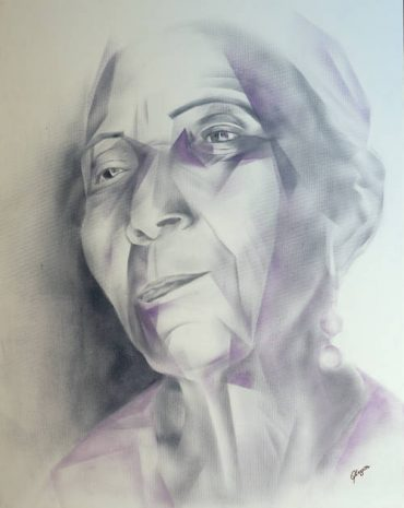 Old woman – 72×81 cm – 2016